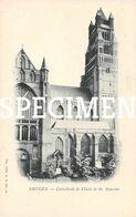 Cathédrale & Flêche De St Sauveur - Bruges - Brugge - Brugge