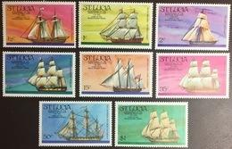 St Lucia 1976 American Bicentennial Ships MNH - Ste Lucie (...-1978)