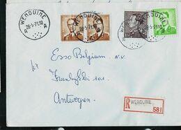Doc. De WENDUINE - A A - Du 26/05/71 En Rec. ( E ) - Marcophilie