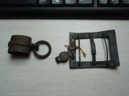 Boucle Ancienne à Idenfier + Pièce D'épée - Garniture - Ou Autre - Equipment