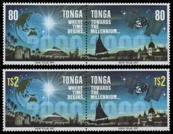 Tonga 1996 - Mi-Nr. Mi.Nr. 1441-1444 ** - MNH - Neujahr 1997 - Tonga (1970-...)