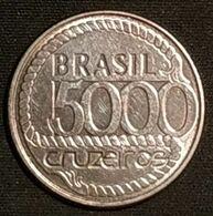 BRESIL - 5000 CRUZEIROS 1992 - LIBERDADE CIDADANIA TIRADENTES - KM 625 - Brésil