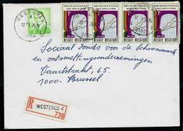 Doc. De WESTERLO - 4 A 4 - ( 3180 ) Du 17/01/75 En Rec. ( E ) - Marcophilie