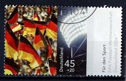 CMF Allemagne - Allemagne Fédérale - Germany - Deutschland 2006 Y&T N°2342 - Michel N°2517 (o) - 45c+20c Supporters - 2006 – Germany