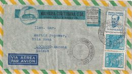 BRESIL 1948      PLI AERIEN DE CURITIBANA - Postal Stationery