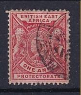 British East Africa: 1896/1901   QV     SG66    1a   Carmine-rose    Used - Kenya, Uganda & Tanganyika