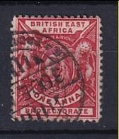 British East Africa: 1896/1901   QV     SG66a    1a   Bright Rose-red    Used - Kenya, Uganda & Tanganyika