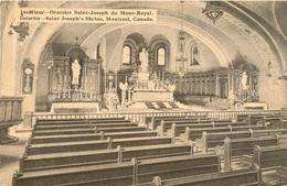 CPA Montréal-Interieur Oratoire Saint Joseph Du Mont Royal        L3113 - Montreal