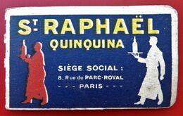 """Carnet Publicitaire  """"SAINT RAPHAEL"""" - Werbung"""