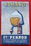 Carnet Publicitaire  ROMANO TURIN Ets PERNOT Illustrateurs - Werbung