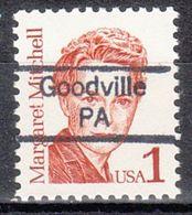USA Precancel Vorausentwertung Preo, Locals Pennsylvania, Goodville 842 - Prematasellado