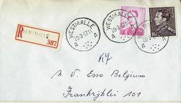 Doc. De WESTMALLE  - A A - Du 29/03/67      En Rec. ( E ) - Marcophilie