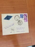 Enveloppe AIR BLEU 1939-  De PARIS à  TARBRES -Signature Du Pilote MR DHE Déstinataire - Voire Scan ( Port Offert ) - Luftpost