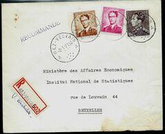 Doc. De WEZ - VELVAIN - A A - Du 08/01/71   En Rec. ( E ) - Marcophilie