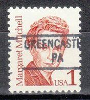 USA Precancel Vorausentwertung Preo, Locals Pennsylvania, Greencastle 841 - Prematasellado