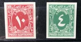 EGYPT: 1927 Postage Paid 4m 10m Canceled Back - Egypt