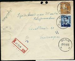 Doc. De WILRIJK - A A - Du 29/06/54   En Rec. ( E ) - Marcophilie