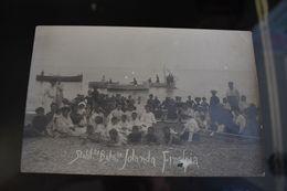 C004 Jolanda Finalpia People On The Beach Vintage Costume Finale Ligure - Otras Ciudades