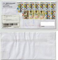 Georgie / Tbilisi - Lettre Recommandée / Resgistered Letter - Georgia