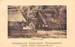 Indonesia - DUTCH NEW GUINEA Nieuw-Guinea - Kamong In Wagdé - Publ. Kon. Paketvaart Maatschappij - Indonesia
