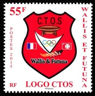 WALLIS ET FUTUNA 2015 - Yv. 839 **  - CTOS Comité Territorial Olympique Et Sportif  ..Réf.W&F22394 - Unused Stamps