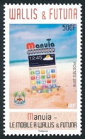 WALLIS ET FUTUNA 2016 - Yv. 849 **  - Téléphones Mobiles 'Maniua'  ..Réf.W&F22378 - Unused Stamps
