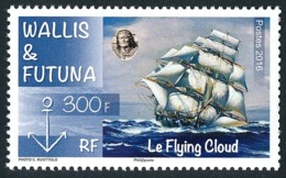 WALLIS ET FUTUNA 2016 - Yv. 850 **  - Bateau. Voilier 'Flying Cloud'  ..Réf.W&F22379 - Unused Stamps