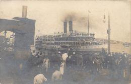 Uruguay - MONTEVIDEO - Llegado Del Barco Londres (año 1907) - REAL PHOTO - Uruguay