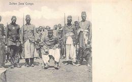 Congo Belge - Sultan Sasa, Dernier Chef Des Zande, Capturé En 1912 Et Exilé à Boma - Ed. M. Venieris - Congo Belge - Autres
