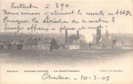 CHARLEROI (Hainaut) Panorama Industriel, Les Hauts-Fourneaux - Charleroi