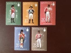 Antigua 1974 Military Uniforms MNH - Antigua & Barbuda (...-1981)