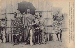Côte D'Ivoire - ABIDJAN - Chef De Famille Anvec Son Tube Et Son Parapluie - Ed. L. Métayer 45 - Ivory Coast