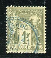 Superbe N° 72 - Cachet à Date Perlé De Paris Etranger - 1876-1878 Sage (Type I)