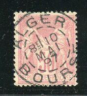 Superbe N° 98 - Cachet à Date ALGER BOURSE ( 1897 ) - 1876-1898 Sage (Tipo II)