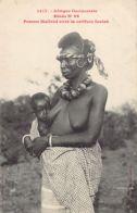 Nu Ethnique - Afrique Occidentale - Etude 96 - Femme Malinké Avec La Coiffure Foulah - Ed. Fortier 1417 - South, East, West Africa