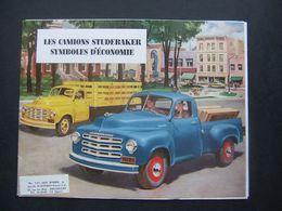 CATALOGUE CAMIONS STUDEBAKER  1949/50 - Cars