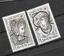 France: N°2070/2071** Au Profit De La Croix Rouge (sous Faciale) - Unused Stamps