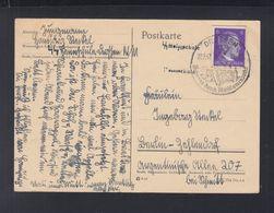 Dt. Reich Polen Poland PK 1942 SS Heimschule Drossen Ośno Lubuskie - Brieven En Documenten