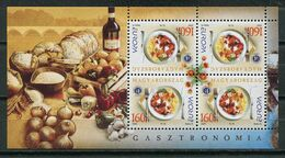 Hungary 2005 Hungria / Europa CEPT Gastronomy MNH Gastronomia Gastronomie / Js18  38-24 - Europa-CEPT