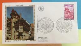 La Maison Pfister - 68 Colmar - 1.6.1974 - FDC 1er Jour - Coté 1,50€ Y&T - FDC