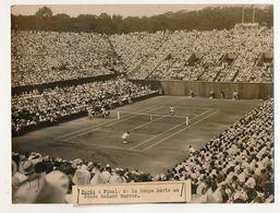 Photo De Presse Keystone - Finale De La Coupe DAVIS Roland Garros : ABDESSELAN - CUCELLI - Sport