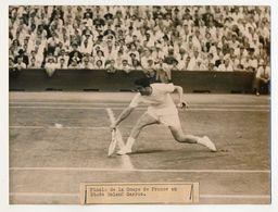 Photo De Presse Keystone - Finale De La Coupe DAVIS Roland Garros : DEL BELLO En Action - Sport