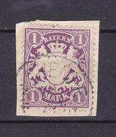 Bayern - 1879 - Michel Nr. 43 - Gestempelt - 110 Euro - Bavaria