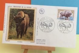 Le Bison - 08 Mouzon - 26.5.1974 - FDC 1er Jour - Coté 2,20€ Y&T - FDC