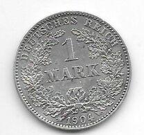 *empire 1 Mark  1904   J   Km 14  Vf+ - 1 Mark