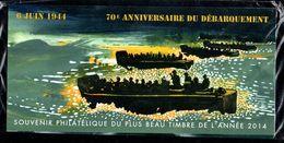 Bloc Souvenir N° 114 - 70è Anniversaire Du Débarquement - Neuf Sous Blister - Souvenir Blocks & Sheetlets