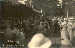 FRANCE - Carte Postale Photo - Concours Hippique En 1922  - L 67482 - Te Identificeren