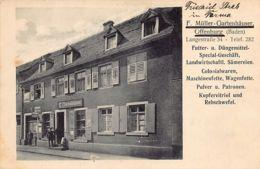 OFFENBURG (BW) F. Mûller-Gartenhäuser Colonialwaren, Langestrasse 34. - Offenburg