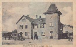MERSCH - La Gare, Autobus - Ed. Edm. Hansen. - Cartoline