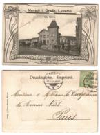 MERSCH - La Gare - Carte à Système Sachet Complet - Ed. J. Teisen-Binsfeld. - Cartoline